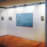 Art Fair Zurich, October 2015, Frame 3, Covered 7, Blue Synapse, Frame 2