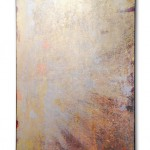 Pure Gold 6, 2015, Acrylic, gold and silver on canvas, 70 x 100 cm, private collection, Zurich