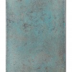 Blue Oxidation 7, 2016, Acrylic, gold & silver leaf on canvas, 40 cm x 60 cm
