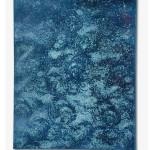 Dark Oxidation 11, 2018, Oxidation Painting on canvas, 40 cm x 50 cm